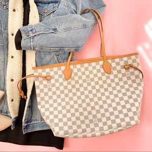🤎PRETTY🤎 LV Damier Azur Neverfull MM